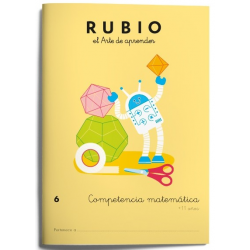 CUADERNO RUBIO COMPET.MATEMATICA 6/5U