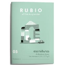 CUADERNO RUBIO ESCRITURA 05/10UD