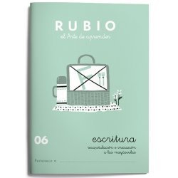 CUADERNO RUBIO ESCRITURA 06/10UD