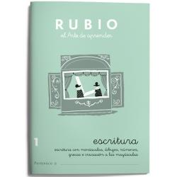 CUADERNO RUBIO ESCRITURA 1/10UD