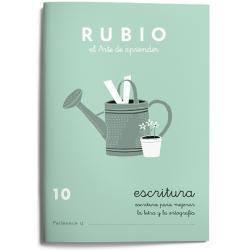 CUADERNO RUBIO ESCRITURA 10/10UD
