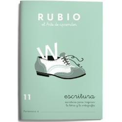 CUADERNO RUBIO ESCRITURA 11/10UD