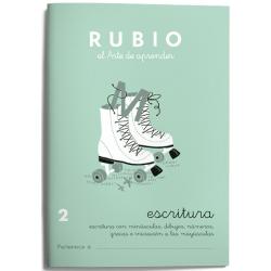 CUADERNO RUBIO ESCRITURA 2/10UD