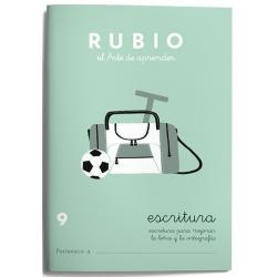 CUADERNO RUBIO ESCRITURA 9