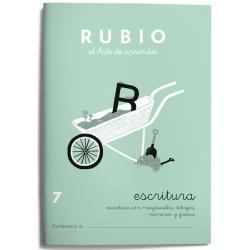 CUADERNO RUBIO ESCRITURA 7