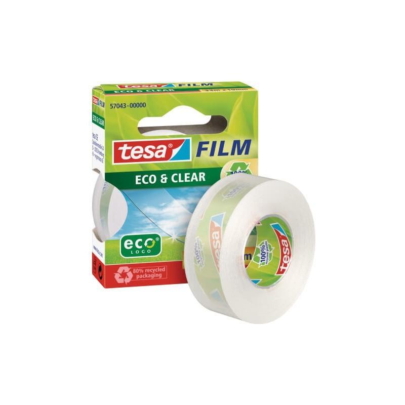 CINTA ADHESIVA TESA ECO&CLEAR 33x19 P/10