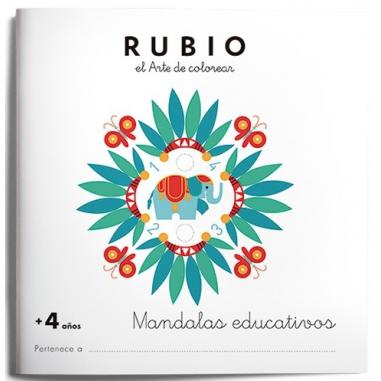 MANDALA EDUCATIVO RUBIO +4 AÑOS