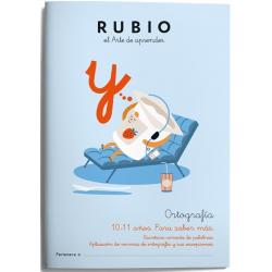 CUADERNO RUBIO ORTOGRAFIA 6 (10-11 AÑOS)