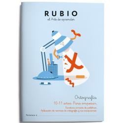 CUADERNO RUBIO ORTOGRAFIA 5 (8-9 AÑOS)