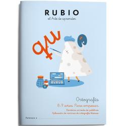 CUADERNO RUBIO ORTOGRAFIA 3 (8-9 AÑOS)