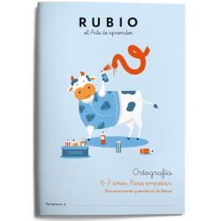 CUADERNO RUBIO ORTOGRAFIA 1 (6-7 AÑOS)