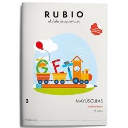 CUADERNO RUBIO MAYUSCULAS 3