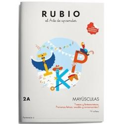 CUADERNO RUBIO MAYUSCULAS 2A
