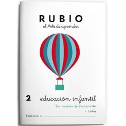 CUADERNO RUBIO EI 2 MEDIOS DE TRANSPORTE