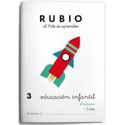 CUADERNO RUBIO EI 3 EL ESPACIO