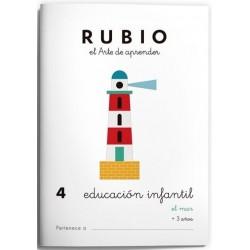 CUADERNO RUBIO EI 4 EL MAR