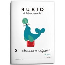 CUADERNO RUBIO EI 5 EL CIRCO