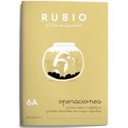 CUADERNO RUBIO PROBLEMAS 6-A
