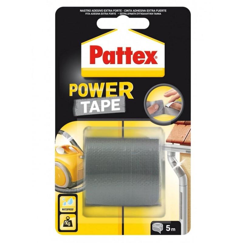 CINTA ADHESIVA POWER TAPE 50X5M. Pattex