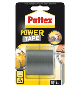 CINTA AMERICANA PATTEX POWER TAPE 50X5M PLATA