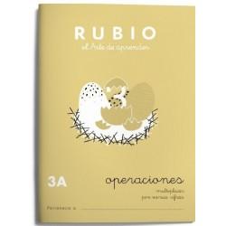 CUADERNO RUBIO PROBLEMAS 3-A