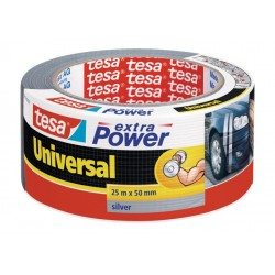 CINTA EXTRA POWER Universal 50X50 PLATA