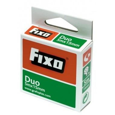 CINTA DOBLE CARA FIXO DUO 5X15 M/M