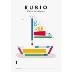 RUBIO LIBRO COLOREAR 1 ARTE DE COLOREAR