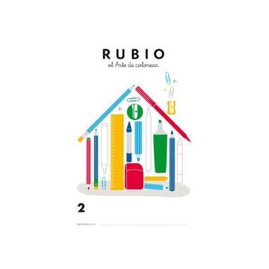 RUBIO LIBRO COLOREAR 2 ARTE DE COLOREAR