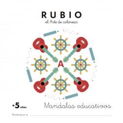 MANDALA EDUCATIVO RUBIO +5 AÑOS