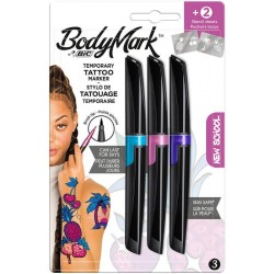 ROTULADOR TATUAJE BODYMARK Kit New School