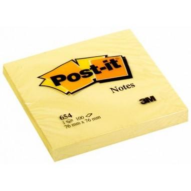 NOTAS ADHESIVAS POST-IT 76X76 P/12