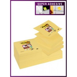 NOTAS ADHESIVAS POST-IT Z NOTES 76X76 P/12