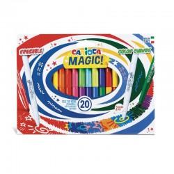 ROTULADOR CARIOCA MAGIC MARKET 20 COLORES