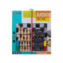 JUEGO PARCHIS / AJEDREZ