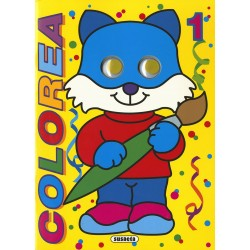 COLOREABLES CON OJOS - PACK 4 TITULOS