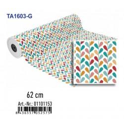 BOBINA PAPEL REGALO 62CMx85M TA1603
