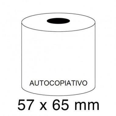 ROLLOS AUTOCOPIATIVO 57X65 P/10