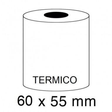 ROLLOS TERMICOS 60X55MM P/10