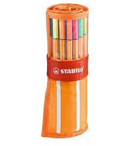 ROTULADOR STABILO POINT 88 ROLLERSET 30 COLORES
