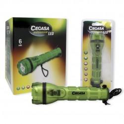 LINTERNA CEGASA 3 LEDS GREEN LIGHT