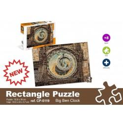 PUZZLE 500 PIEZAS CLOCK ON WALL
