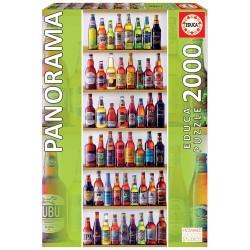 PUZZLE 2000 CERVEZAS DEL MUNDO PANORAMA