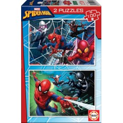PUZZLE 2x100 SPIDER-MAN