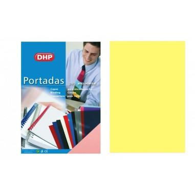 PORTADA A4 DHP 450 MICRAS PASTEL AMARILLO