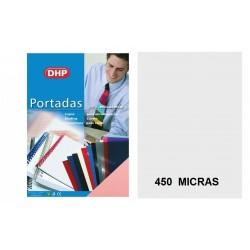 PORTADA A4 DHP 450 MICRAS NATURAL TRANSPARENTE