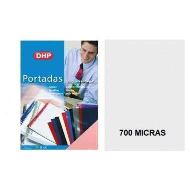 PORTADA A4 DHP 700 MICRAS TRANSPARENTE