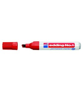 Rotulador Edding Nº 1 Rojo