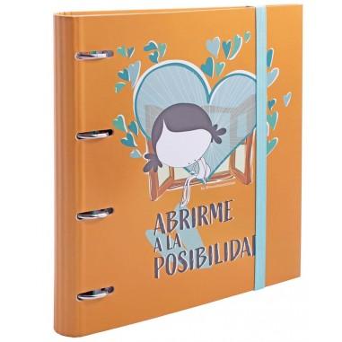 CARPEBLOC A4 4 ANILLAS ABRIRME