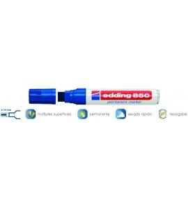 Rotulador Edding 850 Azul